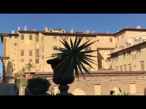 Pitti Palace And Boboli Gardens In Florence