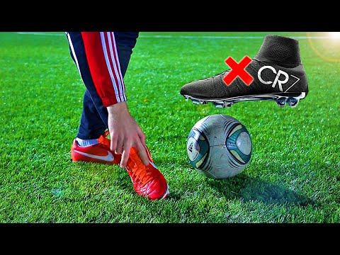 Cristiano Ronaldo Free Kick Tutorial Knuckle Ball Technique