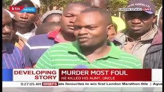 Residents recount last moments of KDF soldier who killed 3 people before killing self