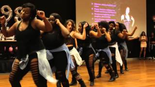 Omega Phi Chi - 10th Annual Pink Inferno Stroll Competition Exhibition