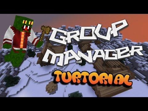 Groupmanager Tutorial (Easy) - Prefix, Sufix, Permission, Ranks