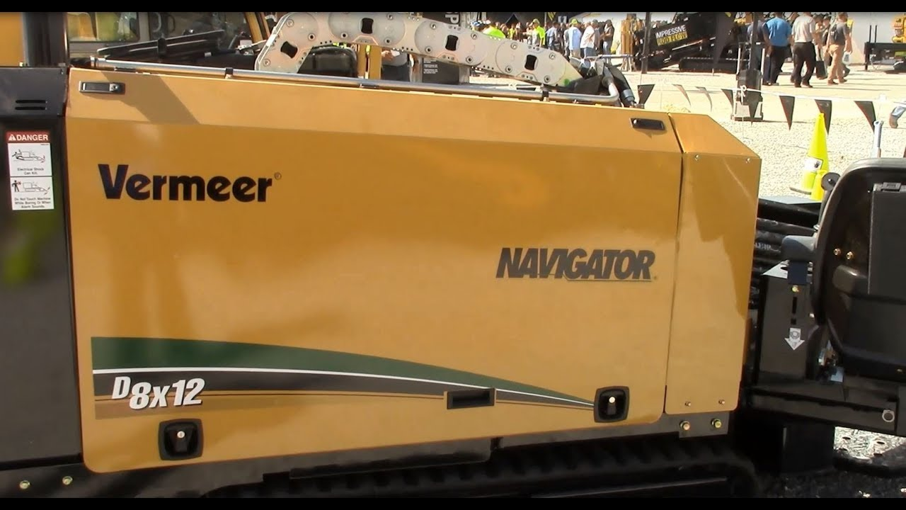 Vermeer D8x12 Navigator Horizontal Directional Drill