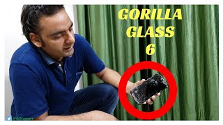 [Hindi] Gorilla Glass 6 ! No More Cracked Screens ???