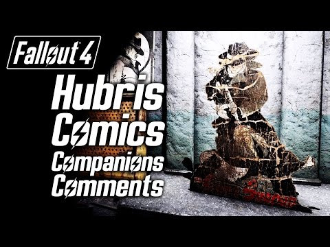 Fallout 4 - Hubris Comics - All Companions Comments
