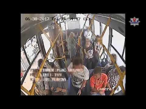 Obserwował w trolejbusie, później zerwał łańcuszek