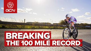 Cycling 100 Miles In Less Than 3 Hours! | New World Record!