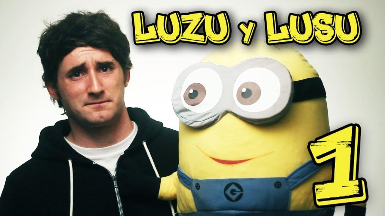 LUZU Y LUSU!!! E.1 - [LuzuGames] - YouTube