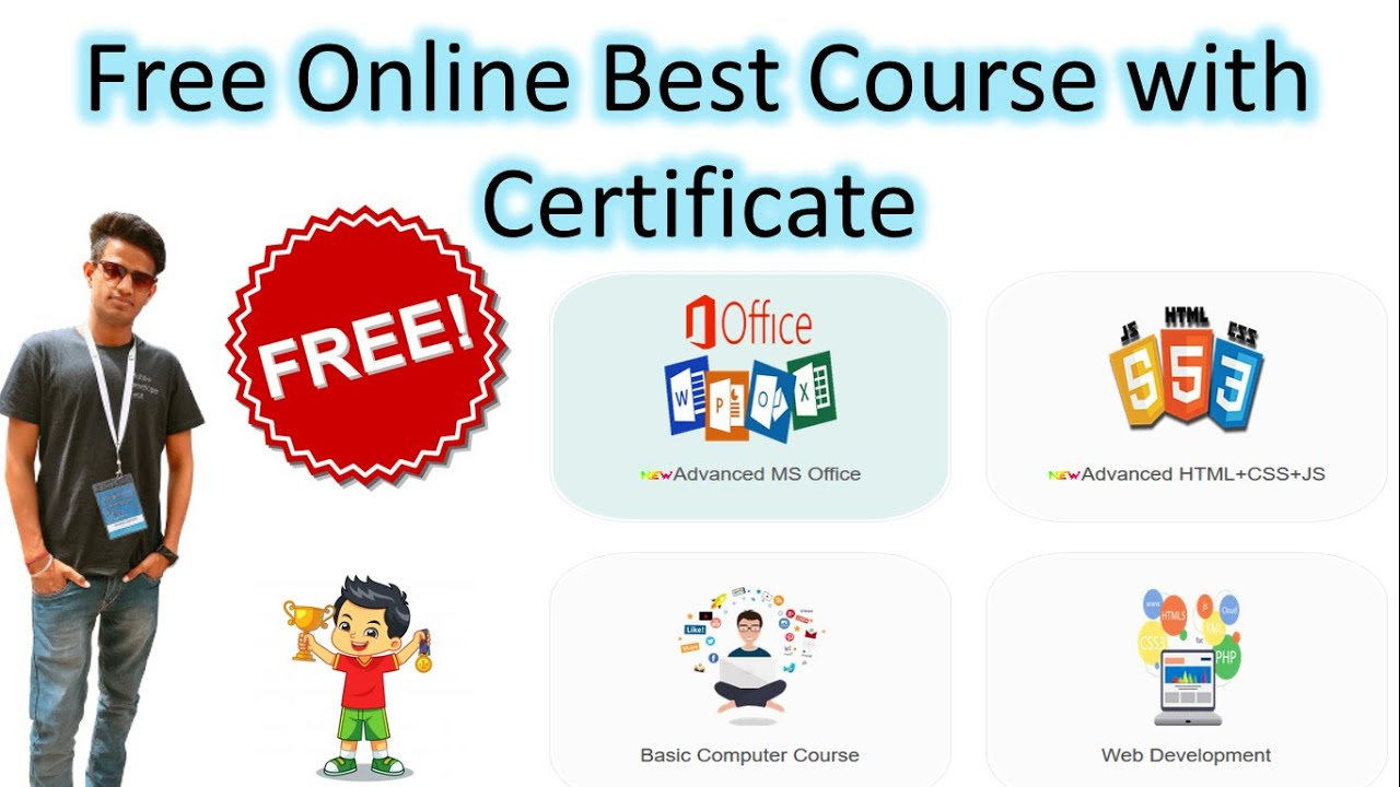 Top 4 Free Online Course With Free Certification | Free Course With Certificate | Free online classe