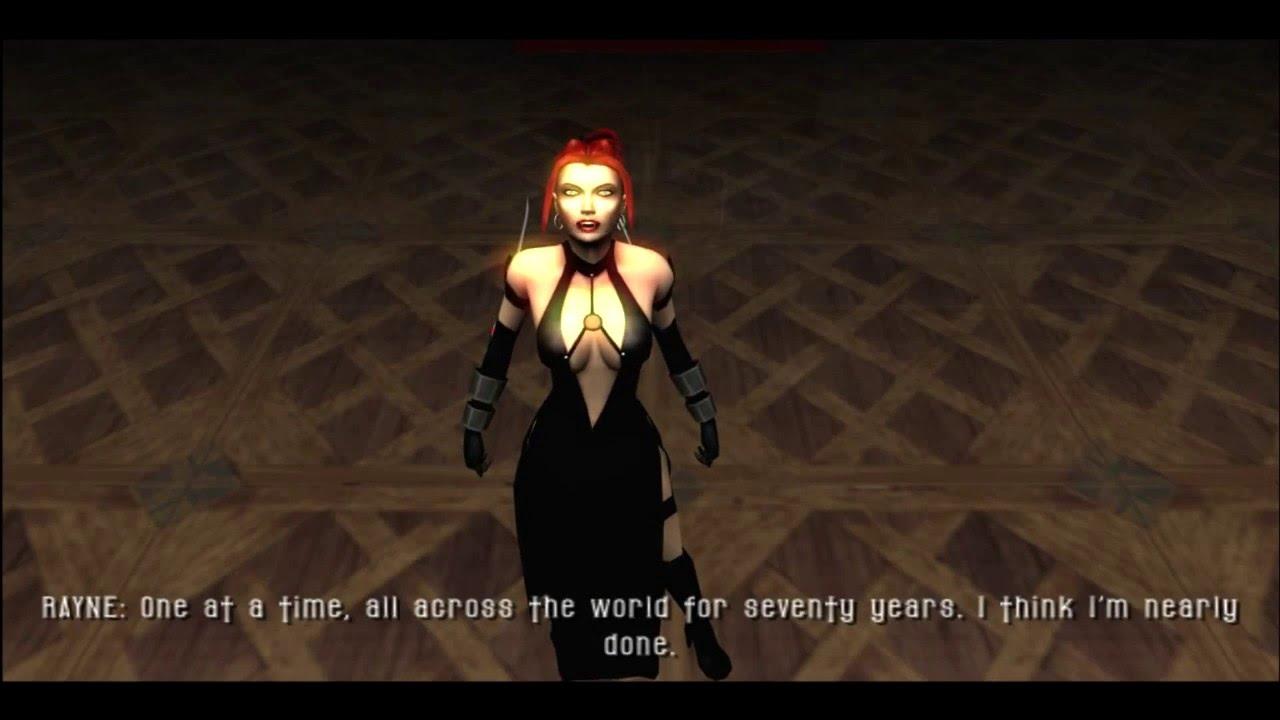 Playstation 2 Bloodrayne 2 Gameplay Sample Pcsx2 Youtube