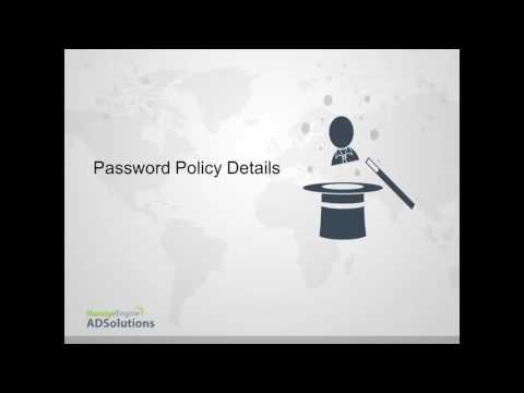 Granular Password Policies for different users in Same AD Domain