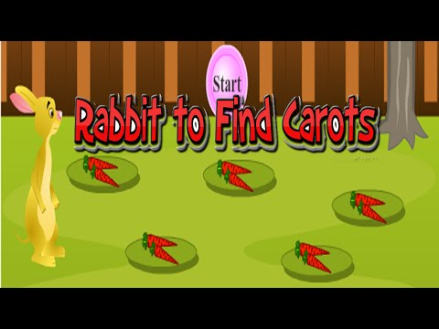 0e034258be3b The rabbit to find the carots