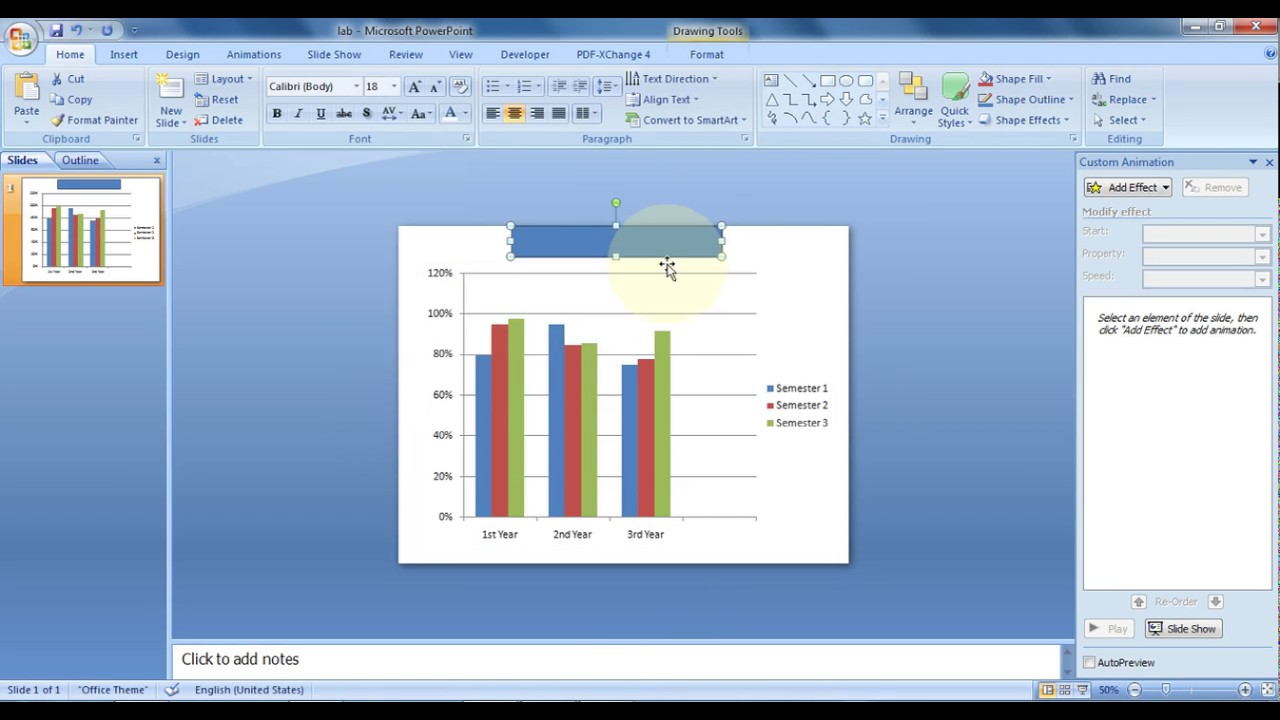 How To Create Animation Of Excel Chart In Powerpoint 4
