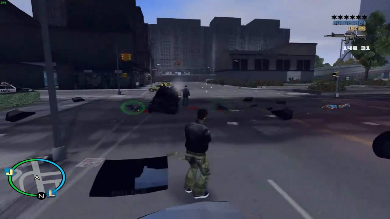 GTAGarage com » IV Hud For GTA III And Vice City