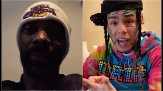 Snoop Dogg Reacts To 6ix9ine Claiming He A Snitch Too