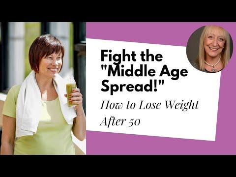 """Losing Weight after 60: Get Back in Shape after the Dreaded """"Middle Age Spread"""""""