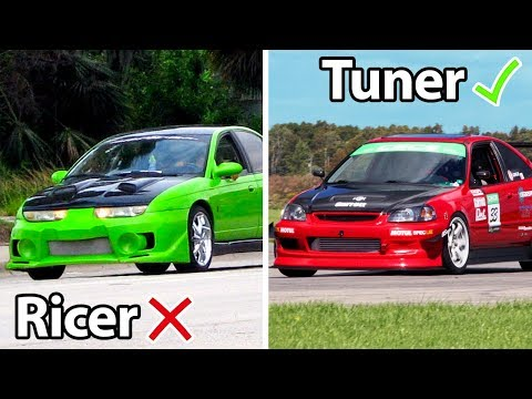 6 Differences Between Ricers Vs Tuners!!