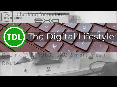 D-Link DIR-1960 EXO AC1900 Smart Mesh Router Setup And Review