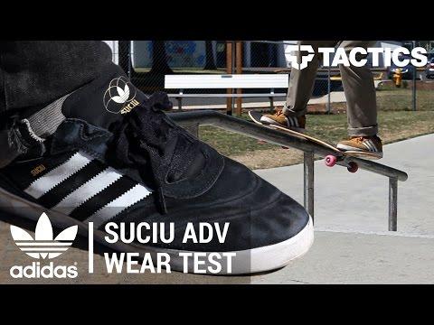 100% de alta calidad más de moda sitio web profesional Adidas Suciu ADV Skate Shoes Wear Test Review - Tactics.com - YouTube