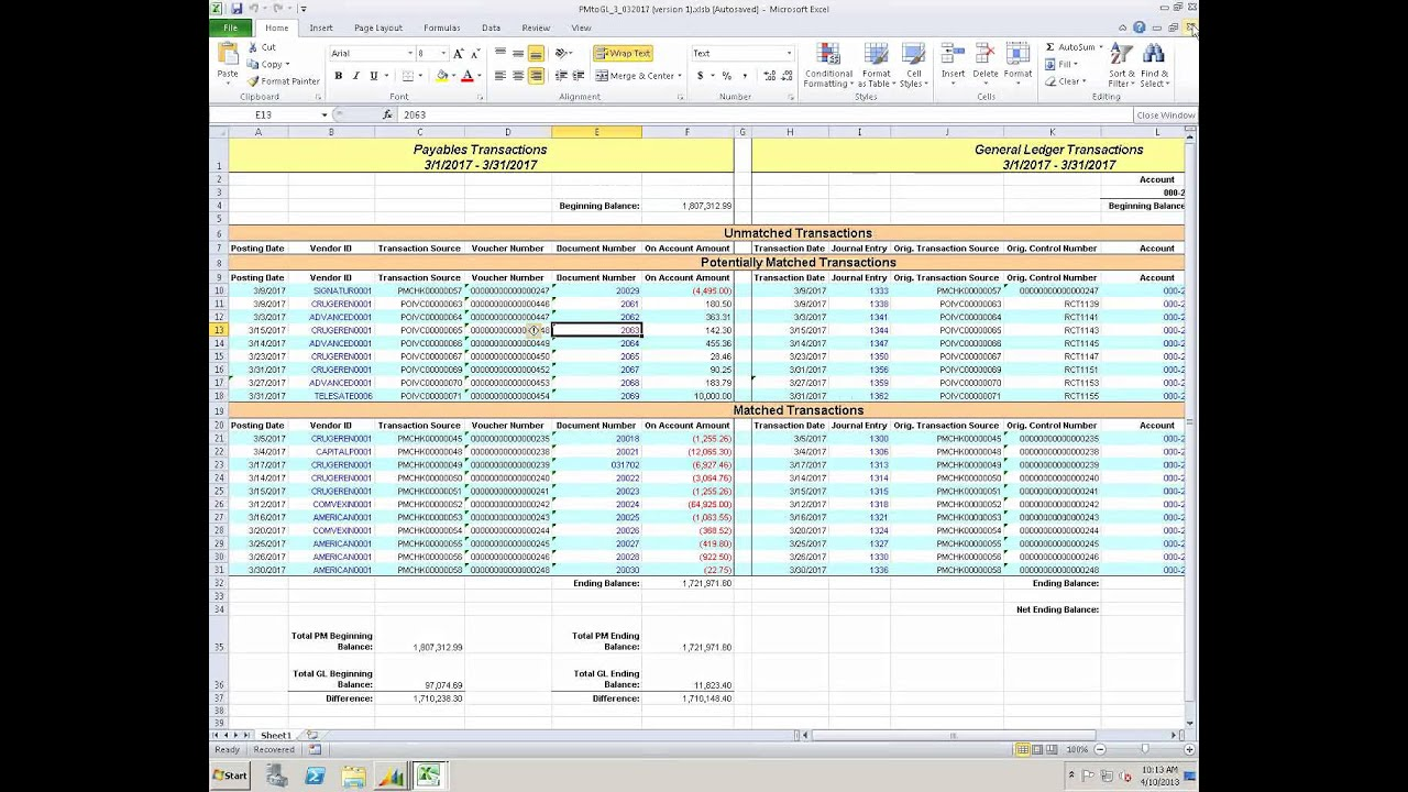 whats new in general ledger  bank rec  and analytical