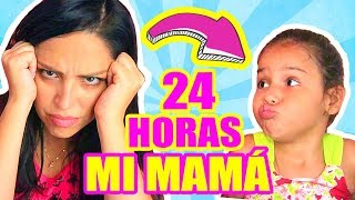 RETO 24 HORAS NIÑA SIENDO MAMÁ DE UN ADULTO! CHALLENGE EXTREMO ft Mia - SandraCiresArt