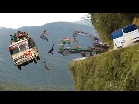 5 Most Dangerous Roads INDIA In The World | India Dangerous Road