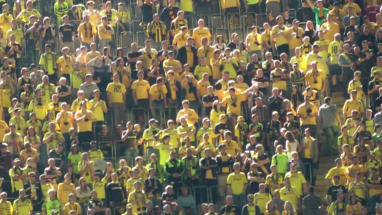 BVB vs Nürnberg 2:0 - Stimmung vor dem Spiel - Deutscher Meister 2011 Borussia Dortmund!