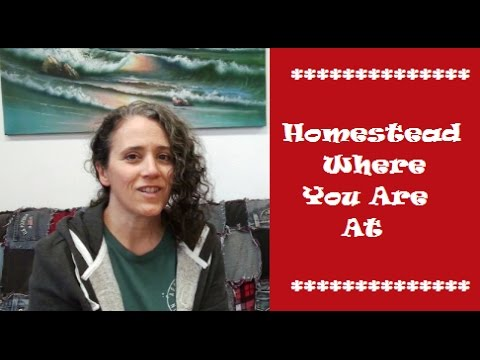 Homestead Where You Are At
