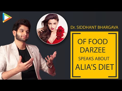 """""""Alia Bhatt is extremely strict when it comes to her diet"""", says her Nutritionist Siddhant Bhargava Mp3"""