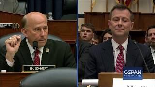 Word for Word: Rep. Louie Gohmert (R-TX) Accused FBI Agent Peter Strzok of Lying (C-SPAN)