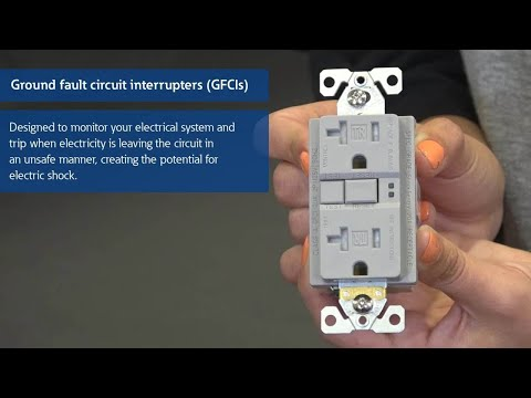 Ground Fault Circuit Interrupter (GFCI) demonstration