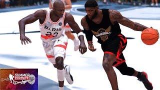 NBA 2K21 Summer Circuit Showcase   Team LeBron vs. Jumpman Select   PC Overhaul