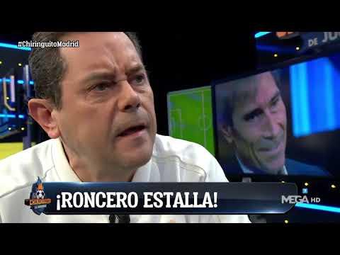 RONCERO † ESTALL� † COMO NUNCA con el REAL MADRID: �JUEGAN COMO SI LES DIERA IGUAL!
