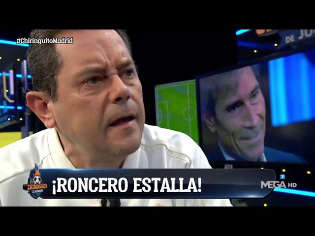 RONCERO ESTALLÓ COMO NUNCA con el REAL MADRID: ¡JUEGAN COMO SI LES DIERA IGUAL!