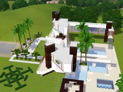 Sims 3 awesome house 3 youtube for Awesome sims