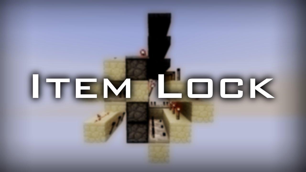 Minecraft Hopper Lock Youtube