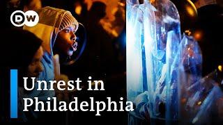 Protests erupt in Philadelphia after police fatally shoot Black man | DW News