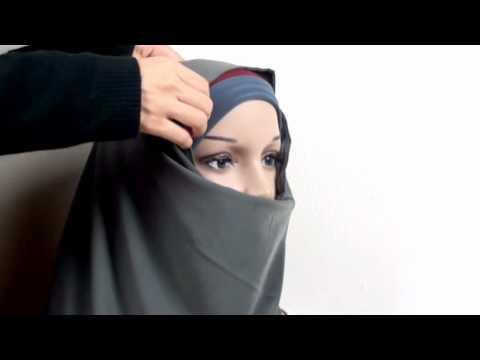 How To Wear Al Amira Hijab