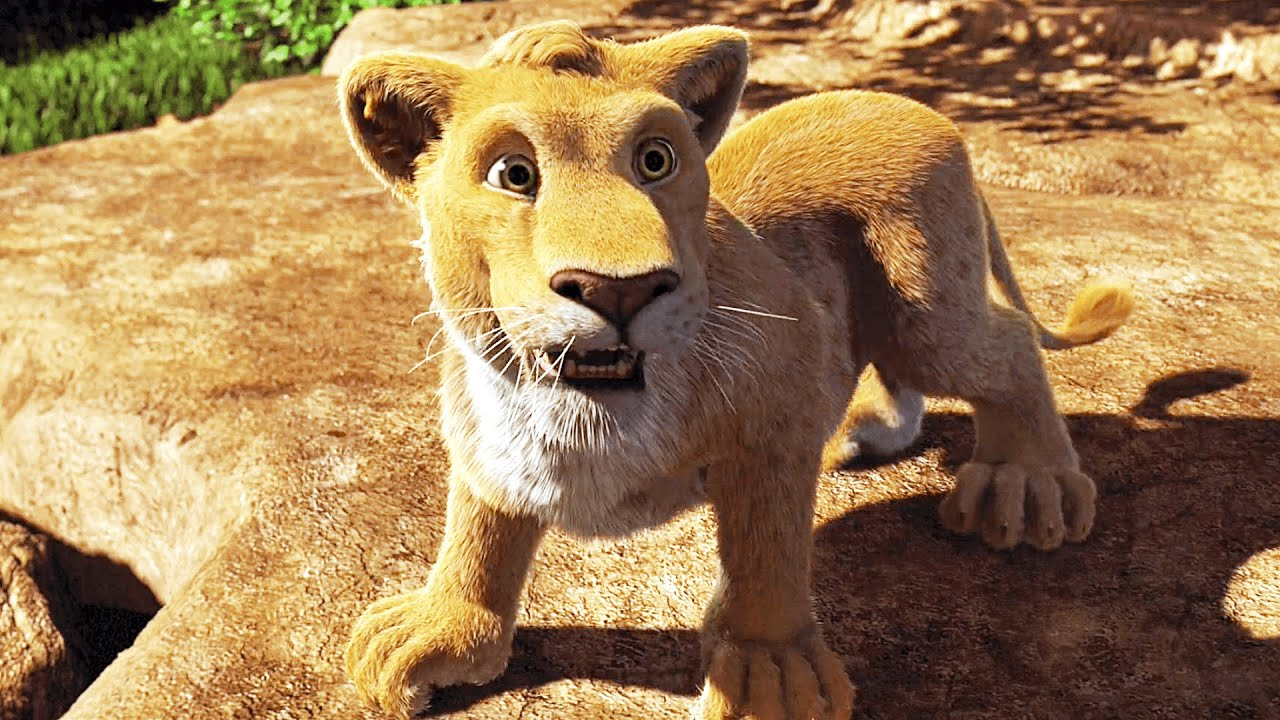 "Download THE WILD Clip - ""Roar"" (2006) Disney"