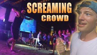 FIGHTERBOYS DANCE GANGNAM STYLE AT FIESTA // (ft Becomingfilipino)