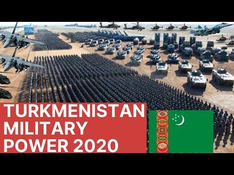 TURKMENISTAN Deadliest Military Power Latest | Armed Forces | Army | Navy