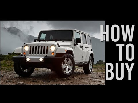 What To Look For When Buying A Jeep Wrangler JK/JKU