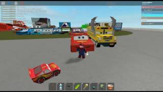 DESTRUCTION IS HAPPENING | ROBLOX Cars 3 [REAL VIDEO]