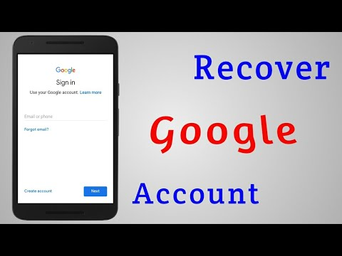 How to access google account forgot password