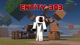 Minecraft GİZEMLERİ #4 - ENTİTY 303 Nedir? [EASTER EGGS]