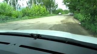 Дорога в поселке Денежниково 40км от Москвы.(, 2012-06-06T19:03:17.000Z)