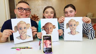 Draw the PORTRAIT OF VLOGGERS Challenge!