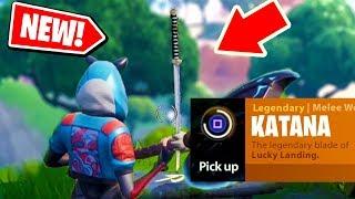 NEW! How to get the KATANA sword in Fortnite: Battle Royale *NEW* Easter egg in FORTNITE!
