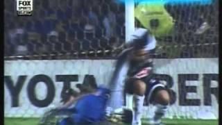 Santos 1 Boca 3 Copa Libertadores 2003 (Resumen Completo)