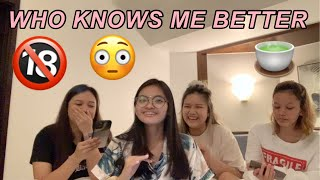 Who Knows Me Better Challenge   Leianne Yvonne