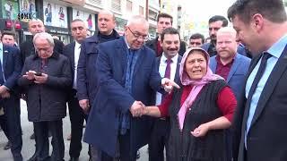 Manisa Büyükşehir Belediye Başkanı Cengiz Ergün'ün Soma Ziyareti